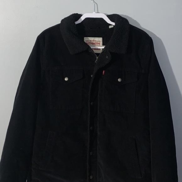 Men's Levi Sherpa Lined Trucker Jacket